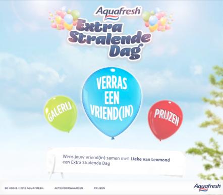 Aquafresh - Extra Stralende Dag