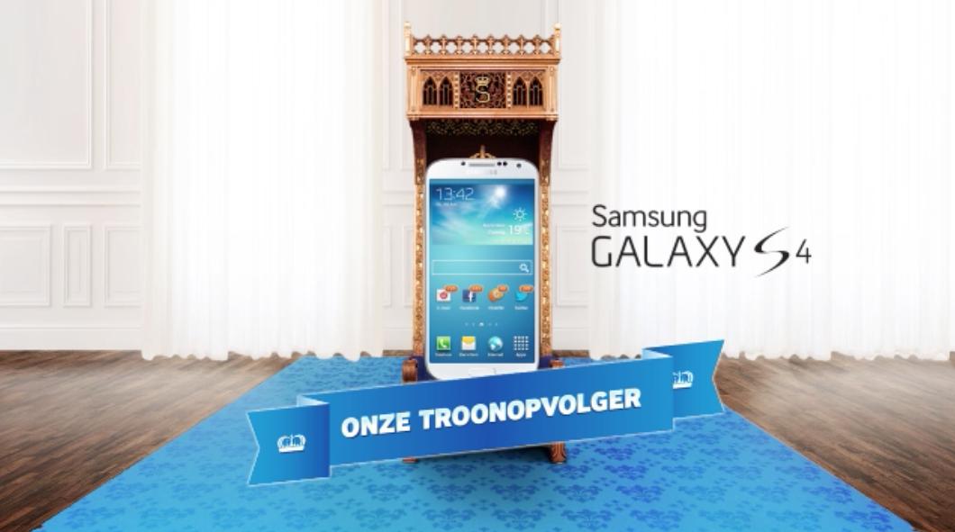 Samsung troonopvolger Galaxy S4